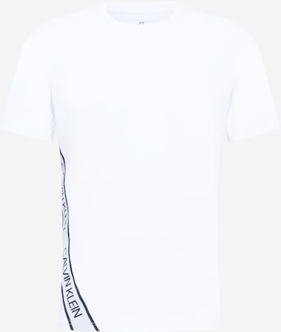 Calvin Klein Performance T-Shirt fonctionnel en noir / blanc, Vue avec produit