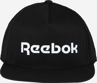 REEBOK Casquette de sport en noir / blanc, Vue avec produit