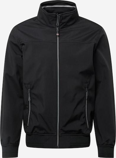TOM TAILOR Between-Season Jacket in Black / White, Item view