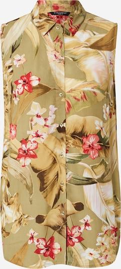 ZABAIONE Blouse 'Alisa' in de kleur Riet / Gemengde kleuren, Productweergave