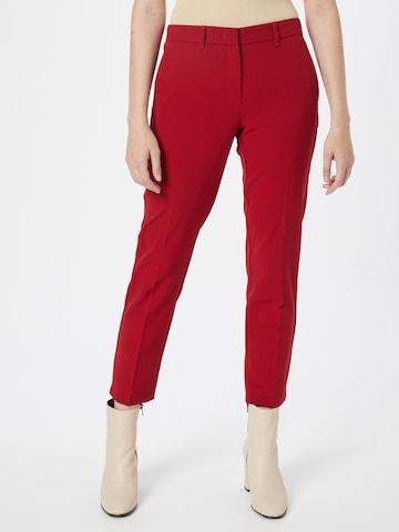 Marella Chino-püksid 'VIOLET', värv punane