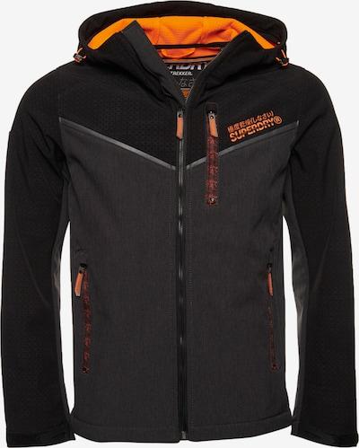 Superdry Tussenjas 'Paralex SD Windtrekker' in de kleur Antraciet / Sinaasappel / Zwart, Productweergave