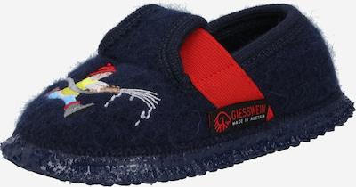 GIESSWEIN Pantofle 'Trulben' - námořnická modř / červená, Produkt