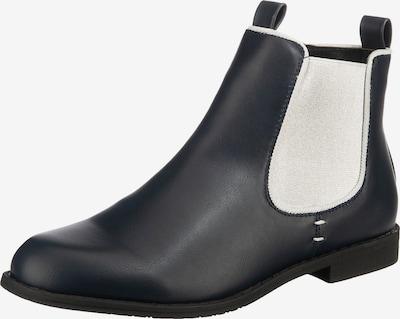 ambellis Stiefelette in dunkelblau / weiß, Produktansicht
