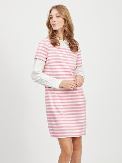VILA Šaty 'Tinny' - ružová / biela, Model/-ka