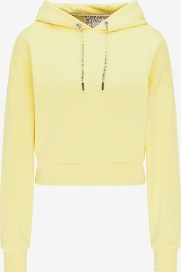 myMo ATHLSR Sweatshirt in limone, Produktansicht