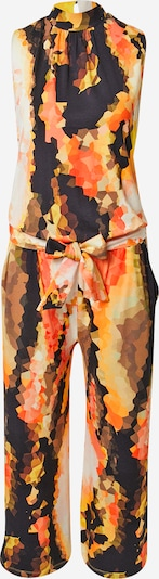 TAIFUN Jumpsuit in Yellow / Mixed colors / Orange / Black / White, Item view