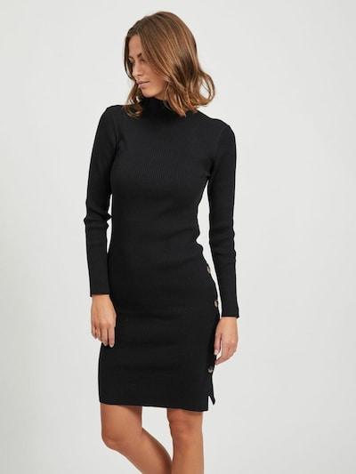 VILA Úpletové šaty 'SOLTO' - černá, Model/ka