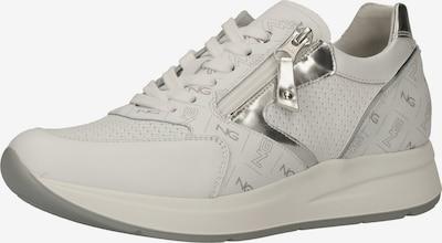 Nero Giardini Sneaker in silber / weiß, Produktansicht