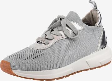 LA STRADA Sneakers in Silver