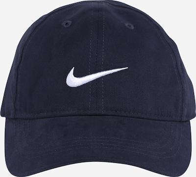 NIKE Cap in marine / weiß, Produktansicht