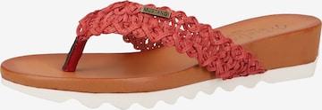 MUSTANG Zehentrenner in Rot
