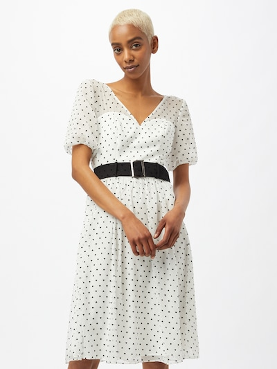 Chi Chi London Haljina u crna / bijela, Prikaz modela