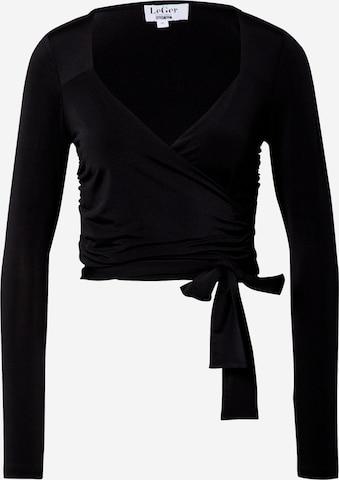 Tricou 'Charlotte' de la LeGer by Lena Gercke pe negru