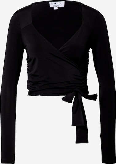 LeGer by Lena Gercke T-shirt 'Charlotte' i svart, Produktvy