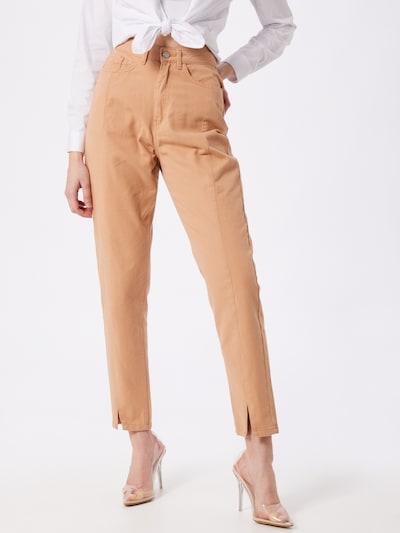Missguided Jeans 'RIOT' in de kleur Perzik, Modelweergave