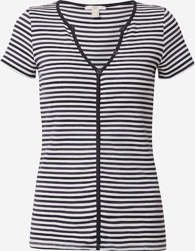 EDC BY ESPRIT Shirt in de kleur Navy / Wit, Productweergave