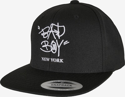 Mister Tee Cap 'Bad Boy New York' in schwarz / weiß, Produktansicht