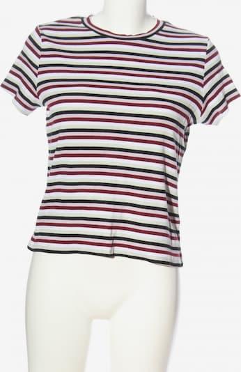 MONKI Ringelshirt in M in pink / schwarz / weiß, Produktansicht