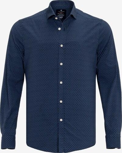 Jimmy Sanders Hemd in hellblau / dunkelblau / weiß, Produktansicht