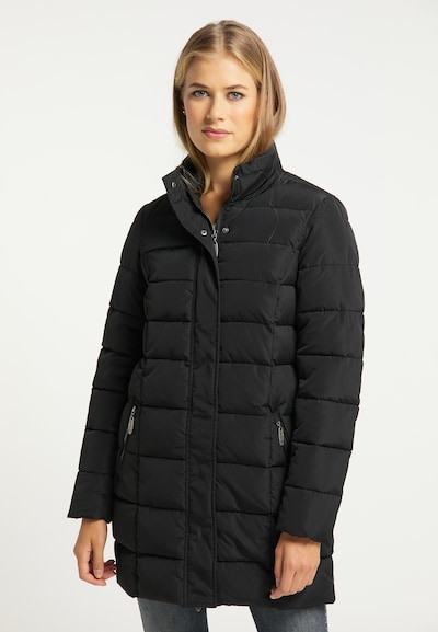 usha BLUE LABEL Wintermantel in schwarz, Modelansicht