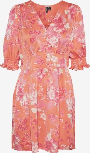 VERO MODA Robe-chemise 'Julia' en corail / rose / blanc, Vue avec produit