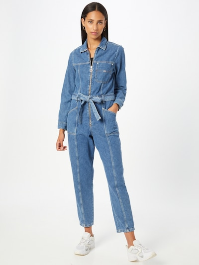 Tommy Jeans Jumpsuit in de kleur Blauw denim, Modelweergave