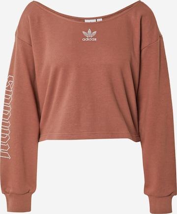 ADIDAS ORIGINALS Sweatshirt in Brown