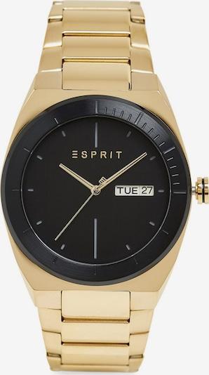 ESPRIT Montre à affichage analogique en or / noir, Vue avec produit