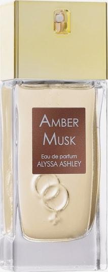"Alyssa Ashley Eau de Parfum ""Amber Musk"" in transparent, Produktansicht"