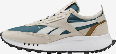 Reebok Classics Sneaker in beige / petrol / weiß, Produktansicht