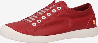 Softinos Sneakers laag in de kleur Rood, Productweergave