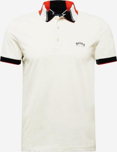 BOSS ATHLEISURE Shirt 'Paule' in Cream / Orange / Black, Item view