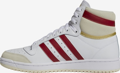 ADIDAS ORIGINALS High-Top Sneakers in Beige / Red / White, Item view