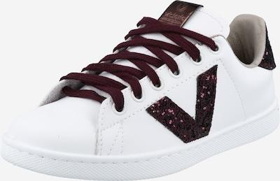 VICTORIA Zapatillas deportivas bajas en lila oscuro / blanco, Vista del producto