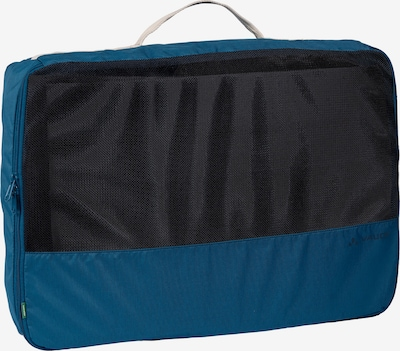 VAUDE Kledingzak 'Trip Box L' in de kleur Donkerblauw / Zwart / Wit, Productweergave