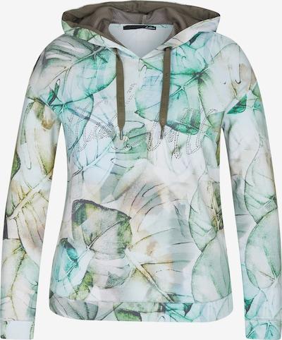 Lecomte Sweatshirt in grün / weiß, Produktansicht