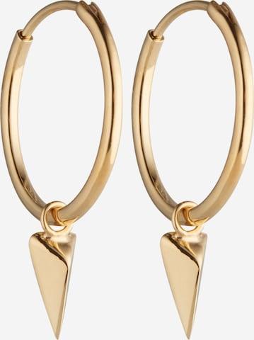ELLI Øredobber 'Dreieck' i gull