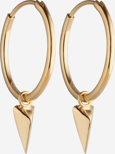 ELLI Pendientes 'Dreieck' en oro, Vista del producto