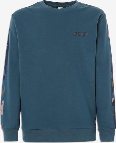 DIESEL Sweatshirt in blau / grau / hellgrau, Produktansicht