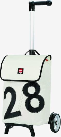 Andersen Shopper Einkaufstrolley in schwarz / weiß, Produktansicht