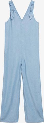 MANGO Jumpsuit 'Marble' i blå