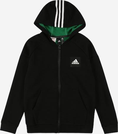 ADIDAS PERFORMANCE Sportief sweatvest in de kleur Zwart / Wit, Productweergave