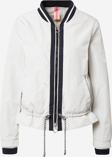 Amber & June Between-season jacket in White, Item view