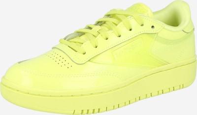 Sneaker low Reebok Classic pe galben lămâie, Vizualizare produs