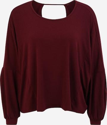 Onzie Funksjonsskjorte 'Om' i rød