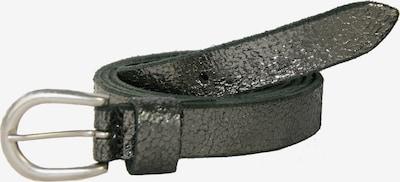 Petrol Industries Ledergürtel in silber, Produktansicht