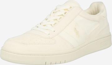Sneaker low de la Polo Ralph Lauren pe bej