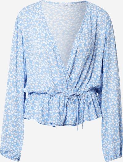 Bluză 'Neele' Hailys pe albastru deschis / roz pal / alb, Vizualizare produs