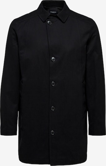 SELECTED HOMME Between-seasons coat in black, Item view
